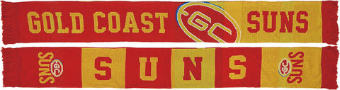 Gold Coast Suns Banner Scarf - Spectator Sports Online