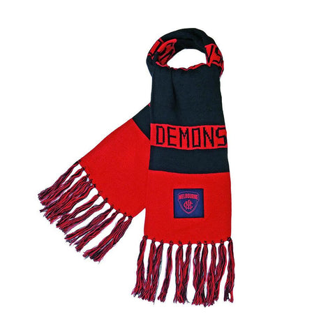 Melbourne Demons Bar Scarf