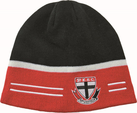 St Kilda Saints Reversible Beanie - Spectator Sports Online - 1