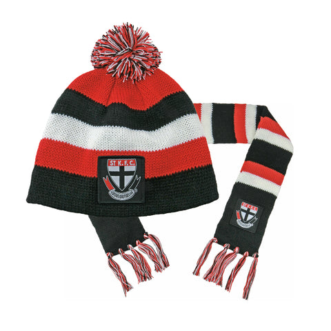 St Kilda Saints Baby Pack - Baby Scarf and Beanie