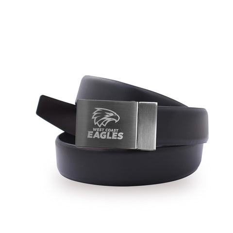 West Coast Eagles Leather Belt