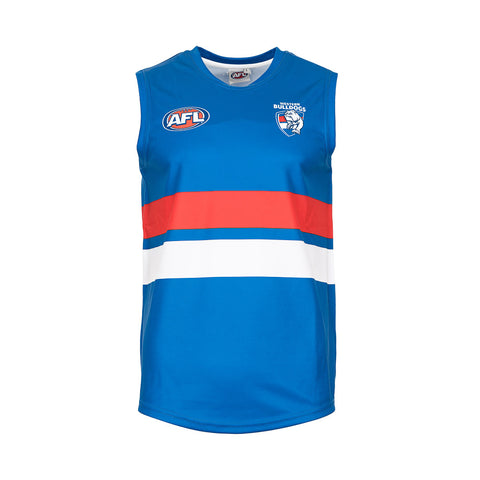Western Bulldogs Mens Footy Jumper Guernsey