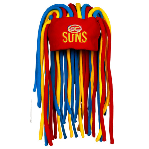 Gold Coast Suns Dreadlock Pez Beanie - Spectator Sports Online