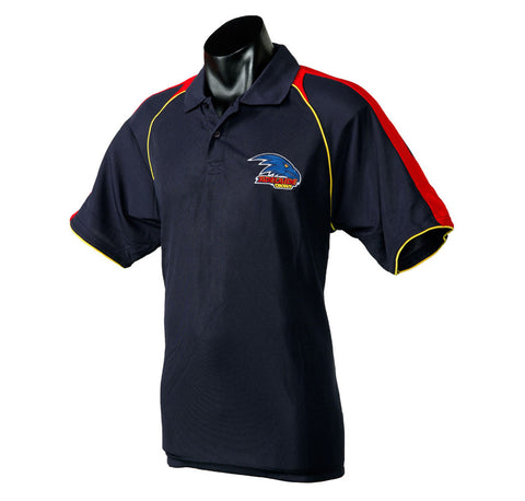 Adelaide Crows Essentials Polo T-Shirt - Spectator Sports Online