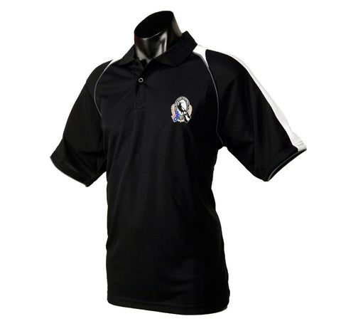Collingwood Magpies Essentials Polo T-Shirt - Spectator Sports Online