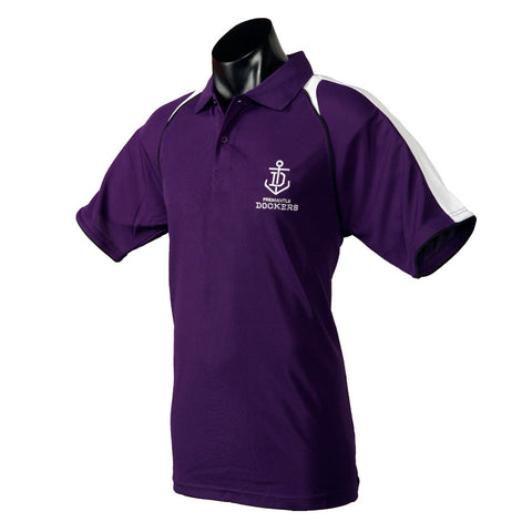 Fremantle Dockers Mens Essentials Polo T-Shirt - Spectator Sports Online