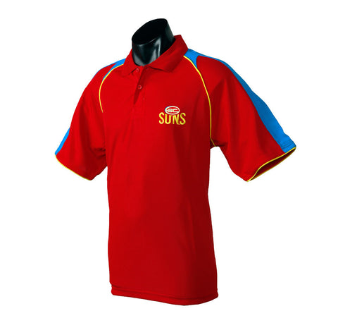 Gold Coast Suns Essentials Polo T-Shirt - Spectator Sports Online