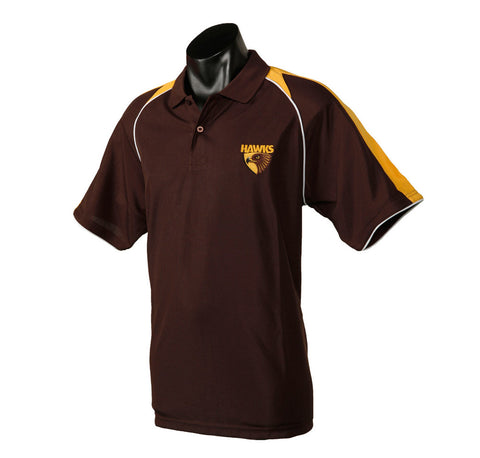 Hawthorn Hawks Essentials Polo T-Shirt - Spectator Sports Online