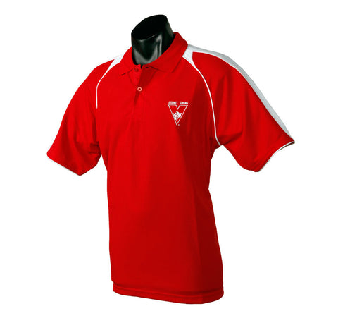 Sydney Swans Essentials Polo T-Shirt - Spectator Sports Online