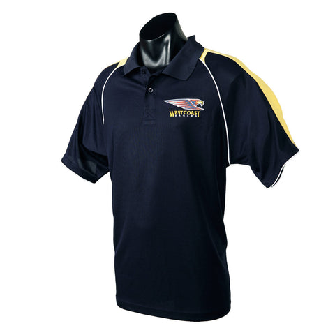 West Coast Eagles Essentials Polo T-Shirt - Spectator Sports Online