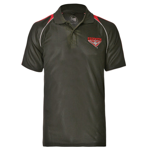 Essendon Bombers Mens Essentials Polo T-Shirt
