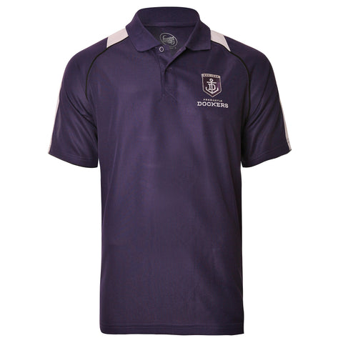 Fremantle Dockers Mens Essentials Polo T-Shirt