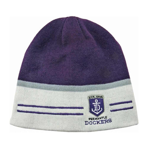 Fremantle Dockers Reversible Beanie - Spectator Sports Online - 1