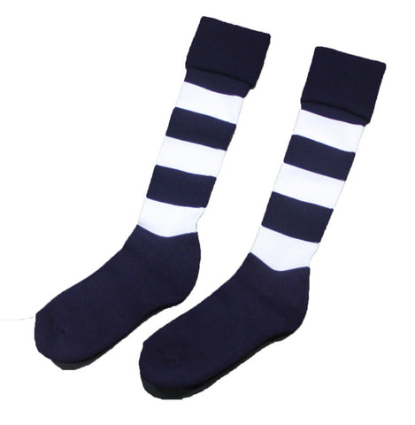 Geelong Cats Boys Youths Mens Football Socks - Spectator Sports Online