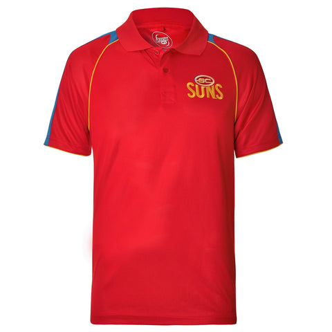 Gold Coast Suns Mens Essentials Polo T-Shirt