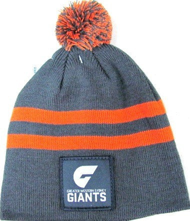 Greater Western Sydney GWS Giants Baby Beanie - Spectator Sports Online