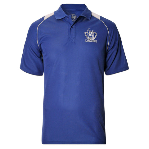 North Melbourne Kangaroos Mens Essentials Polo T-Shirt