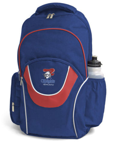 Newcastle Knights NRL Fusion School Backpack Bag - Spectator Sports Online
