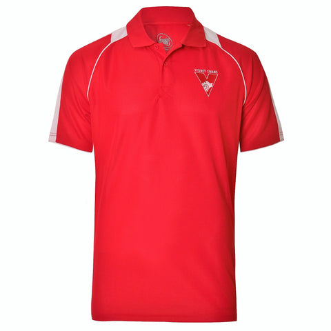 Sydney Swans Mens Essentials Polo T-Shirt