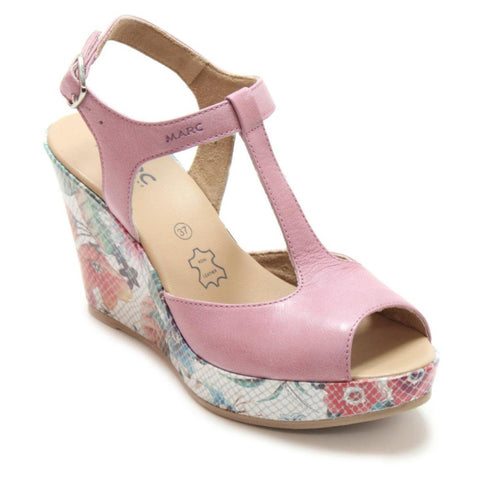 Marc shoes Scarlett Damen Sandalette in hellgrau und rose