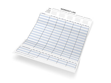 Workout Tracking Worksheet