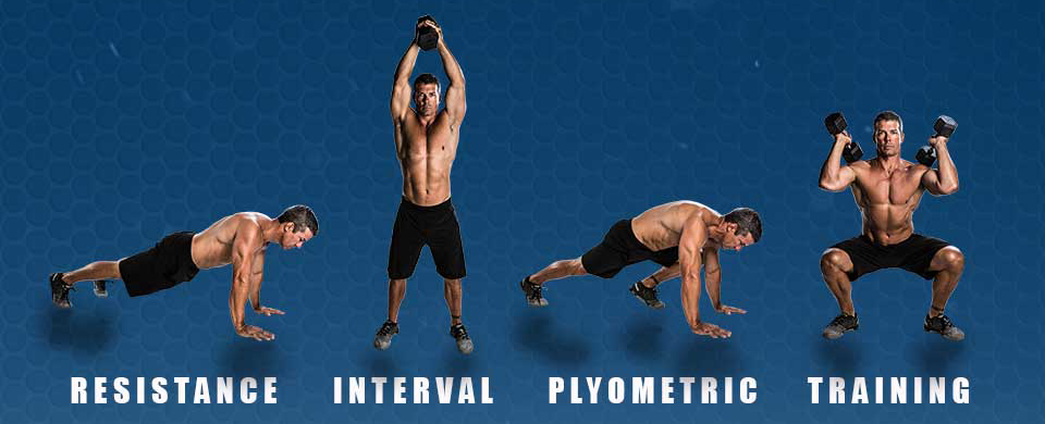 Resistance Interval Plyometric Training