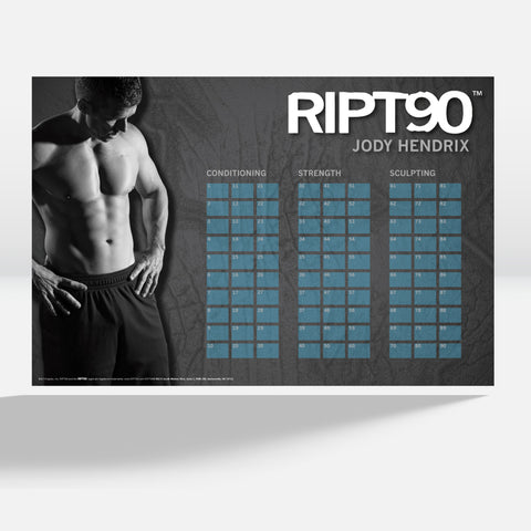 RIPT90: Get Ripped in 90 Days - Complete Home Fitness - 14 DVD