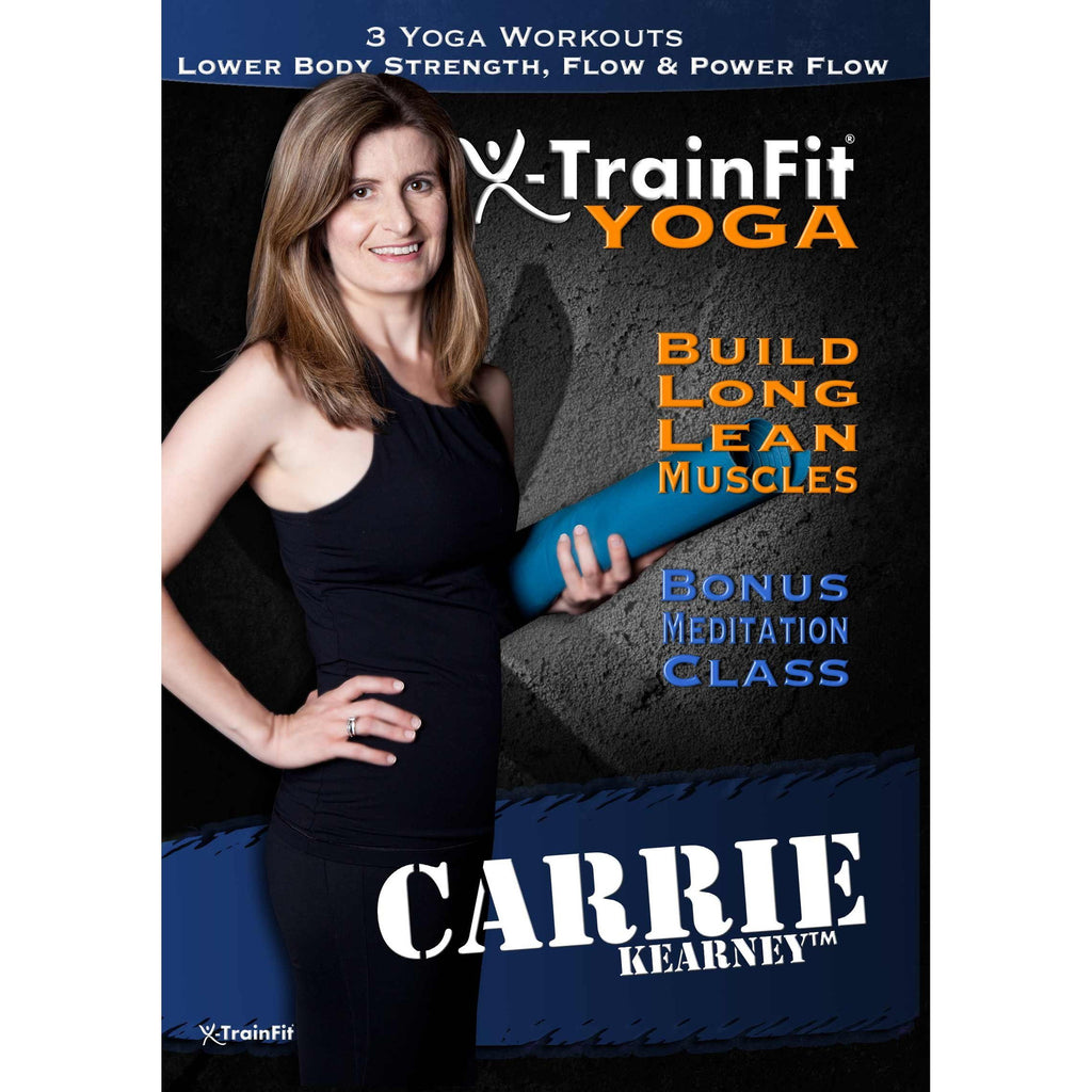 X-TrainFit Yoga - Carrie Kearney 3 Workout Set + Meditation