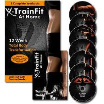 X-TrainFit At Home: 12 Week Extreme Home Fitness Workout DVD Program