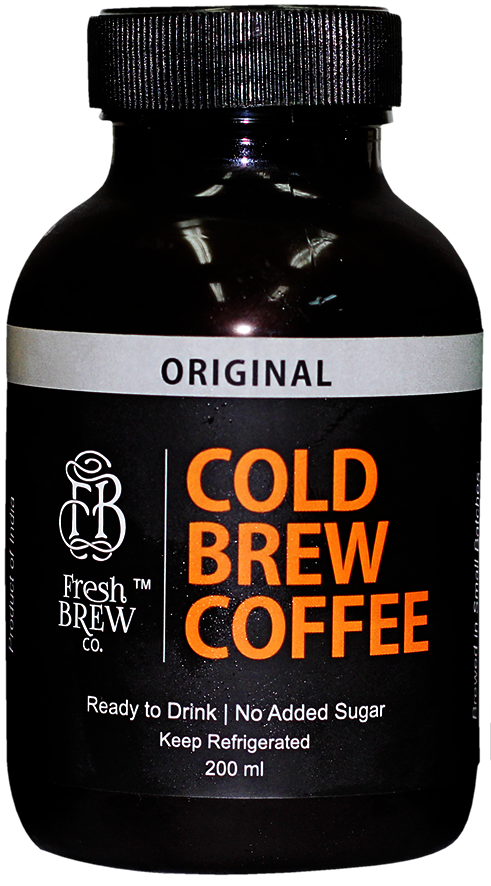Cold Brew Coffee | Original | 4 Bottles