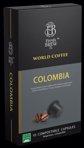 World Coffee : Colombia | Intensity 5 | Compostable Capsule