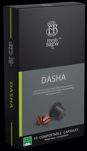 Dasha | Intensity 8 | Compostable Capsule