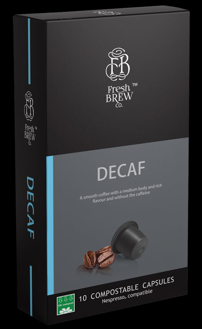 Decaf | Intensity 8 | Compostable Capsule