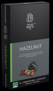Hazelnut | Intensity 6 | Compostable Capsule