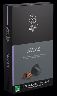 Javas | Intensity 10 | Compostable Capsule