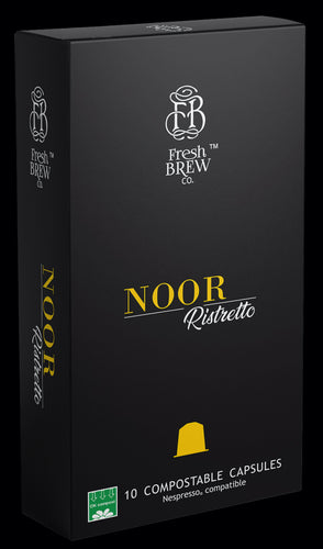Noor | Ristretto | Intensity 11 | Compostable Capsules