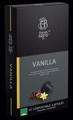 Vanilla | Intensity 6 | Compostable Capsule