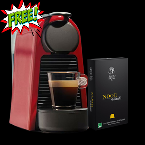 1 Year Coffee capsules subscription - 720 Capsules | Free coffee machine worth        Rs. 25,000/-
