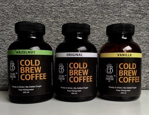 Cold Brew Coffee Sampler Pack | 4 Bottles