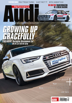 Performance Audi Magazine: 12-month subscription (Mainland Europe)