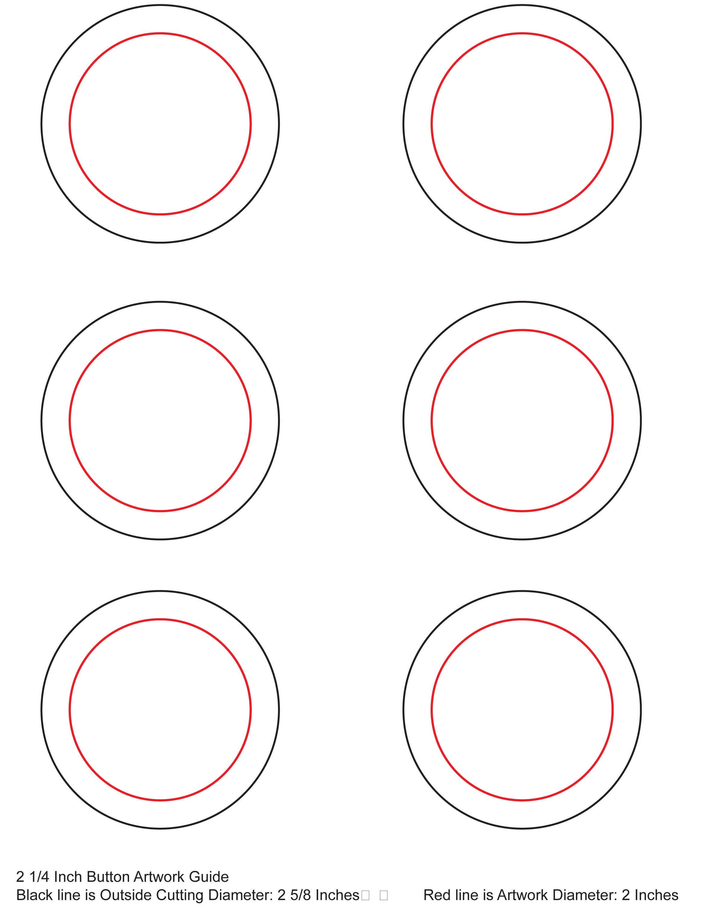 Templates for Button template for word