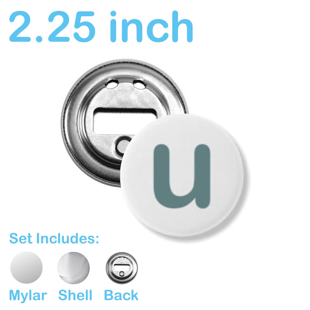 Bottle Cap Openers for 2 25 inch Button Machines