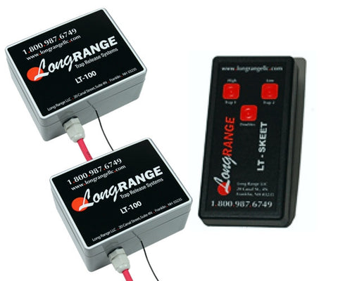 LT-200 Dual Trap Wireless Release System with 3 Button Transmitter (Ref: LT200)