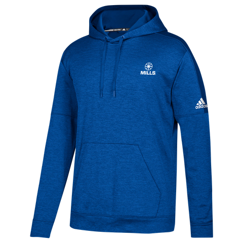 Adidas Team Issue Pullover - Collegiate Royal Melange