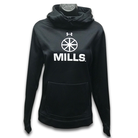 Women's MILLS Under Armour Storm Hoodie - Black
