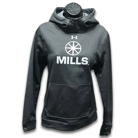 Women's MILLS Under Armour Storm Hoodie - Carbon Heather