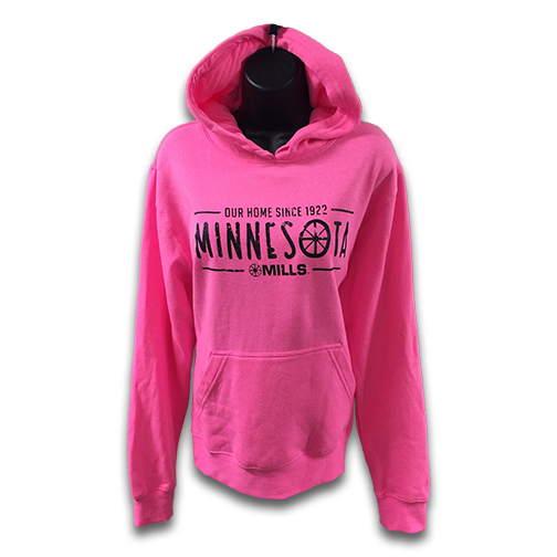 Mills MN Our Home, Neon Pink/Black