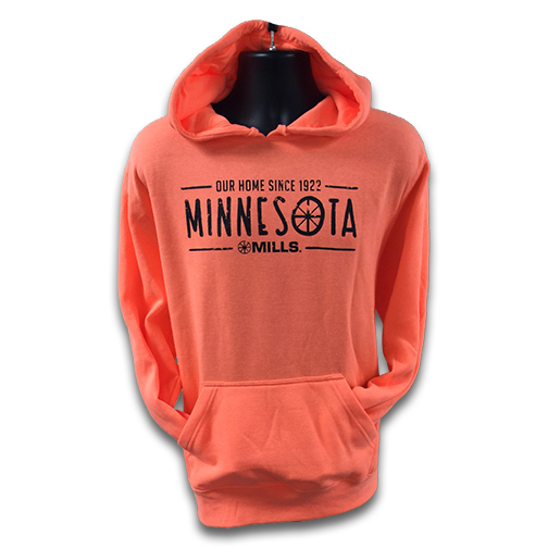 Mills MN Our Home, Neon Orange/Black