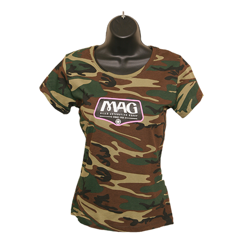 MAG Camo T-Shirt - Green Woodland