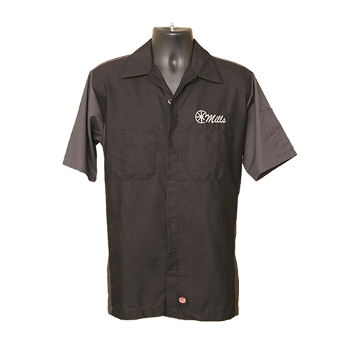 MAG Redkap Shop Shirt - Black/Gray